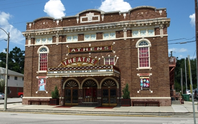 Historic Athens Theater Downtown DeLand FL